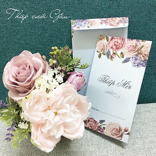 In thiệp cưới đẹp
