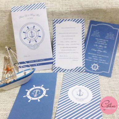 Thiệp cưới Ocean