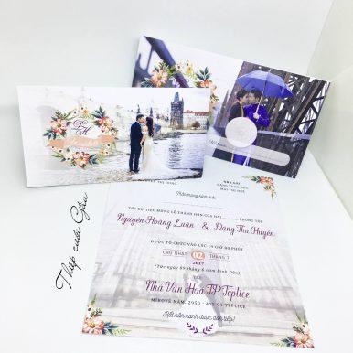 Thiệp cưới He&She