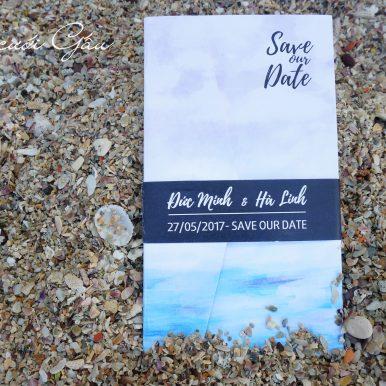 Thiệp cưới Save Our Date