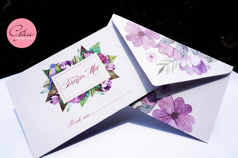 Thiệp cưới Henie0