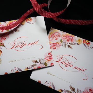 Thiệp cưới Rosy