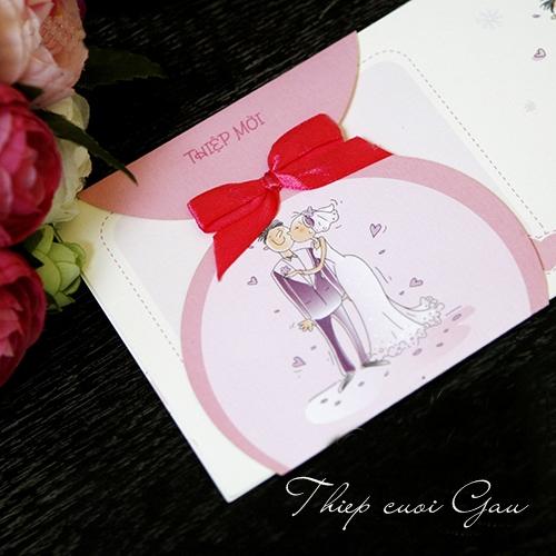 Thiệp cưới Chibi0