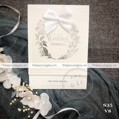 Thiệp cưới Redla