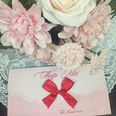 Thiệp cưới Princess