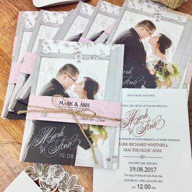 Thiệp cưới Monophoto