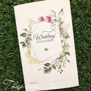 Thiệp cưới HMH 833