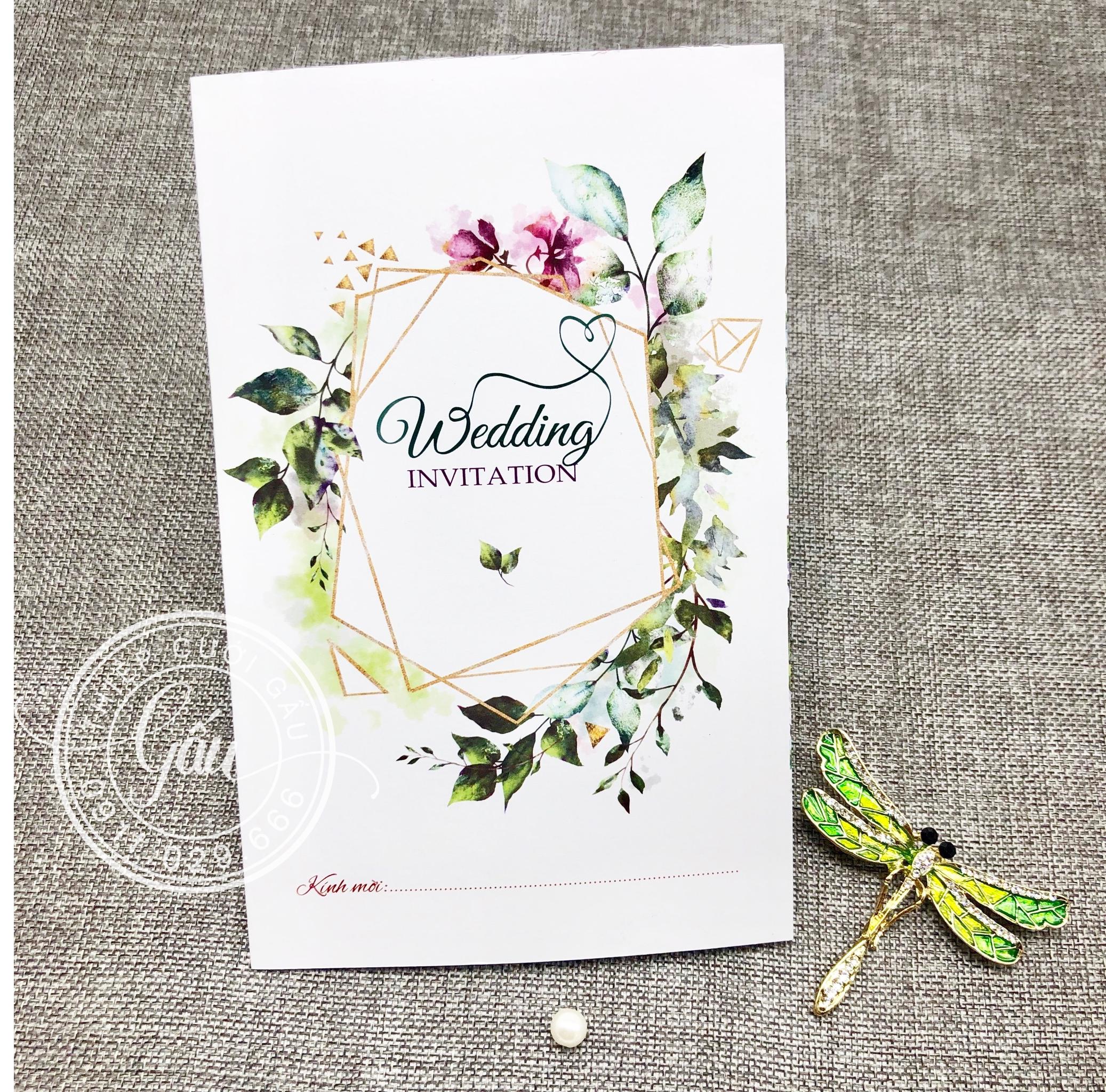 Thiệp cưới Rainforest0