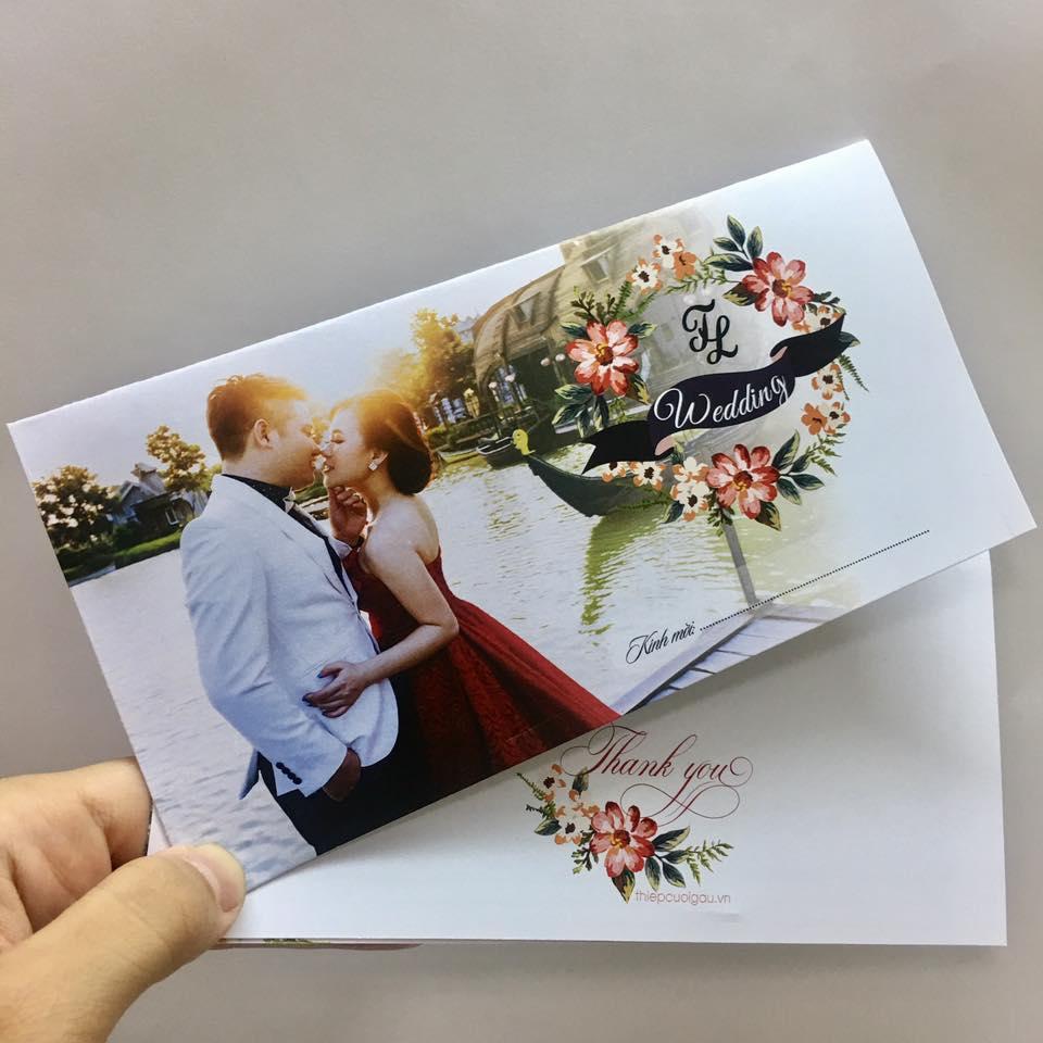 Thiệp cưới in ảnh0