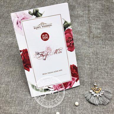 Thiệp cưới HM