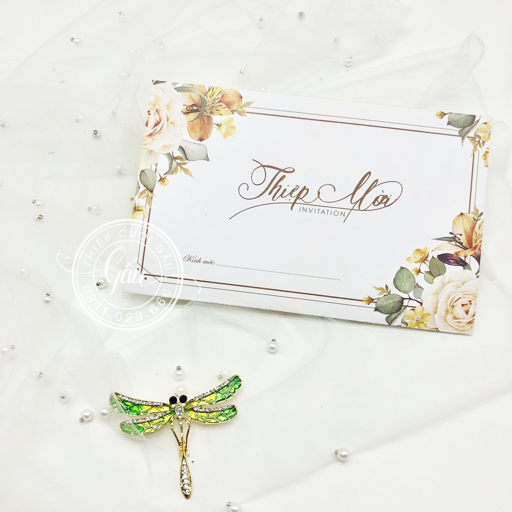 Thiệp cưới HM0
