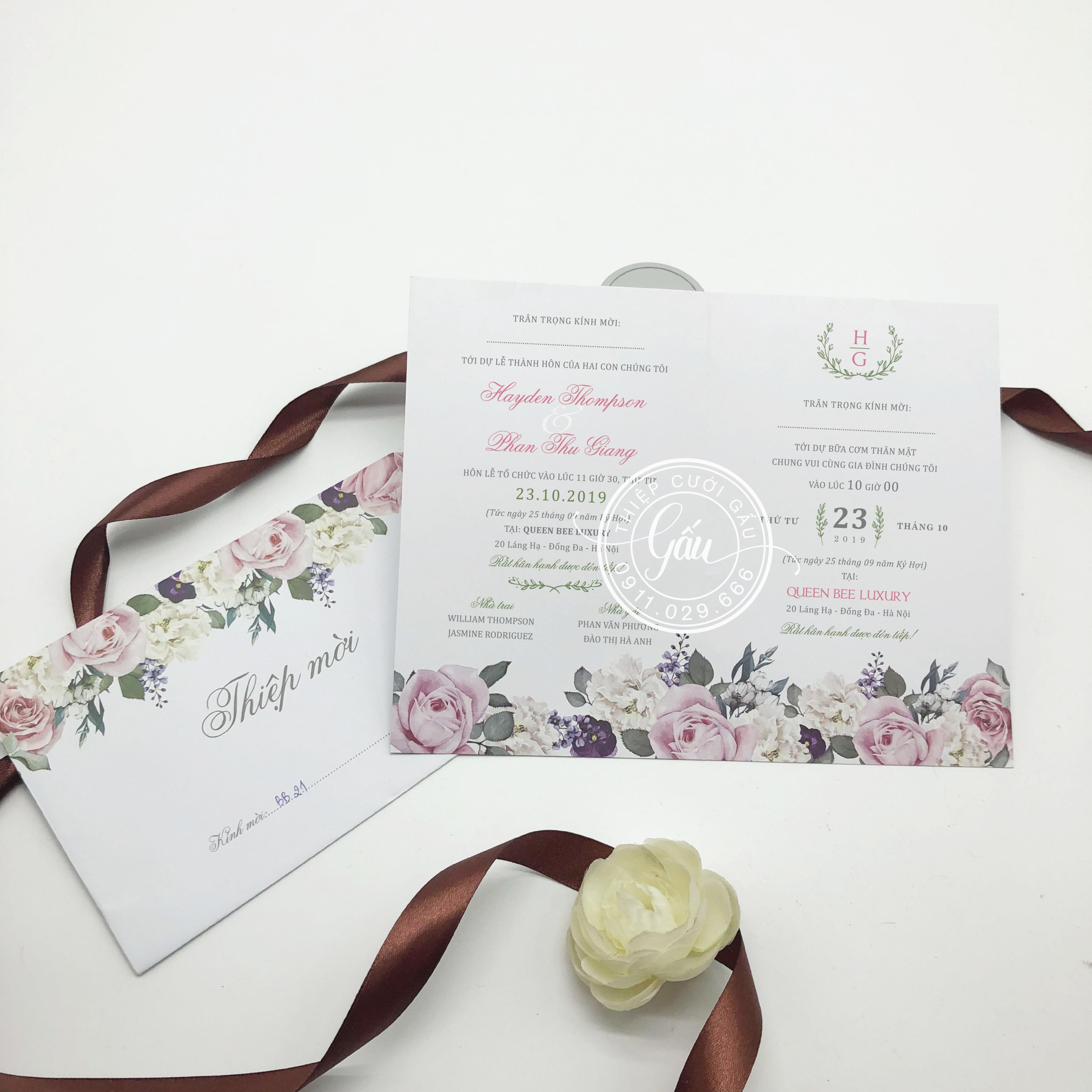 Thiệp cưới BB2