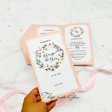 Thiệp cưới Jamie
