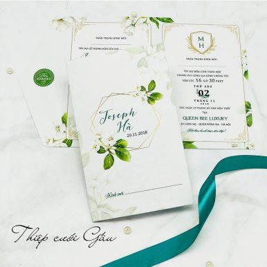 Thiệp cưới Apple