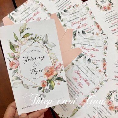 Thiệp cưới Johny