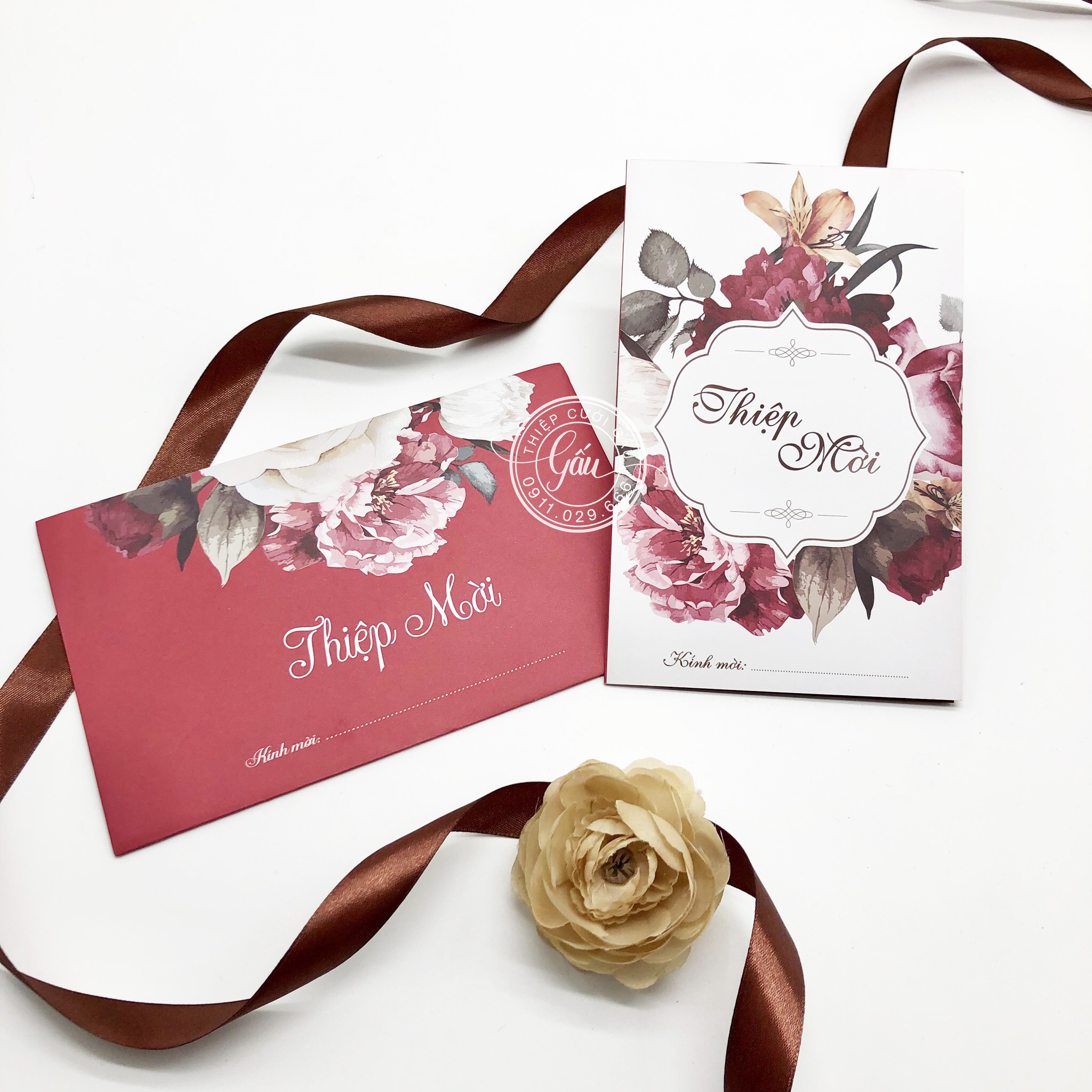 Thiệp cưới 51B140