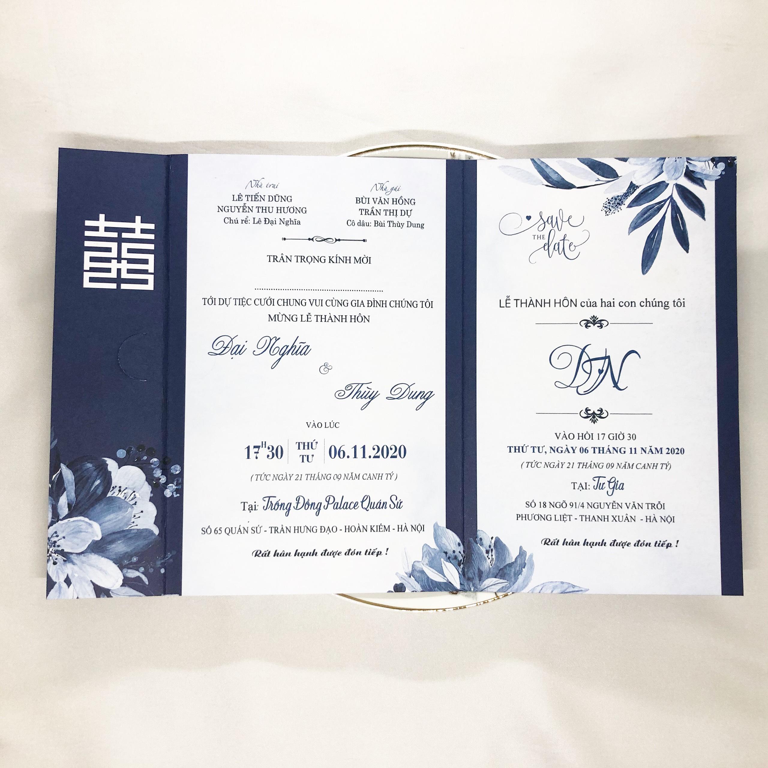 Thiệp cưới B082
