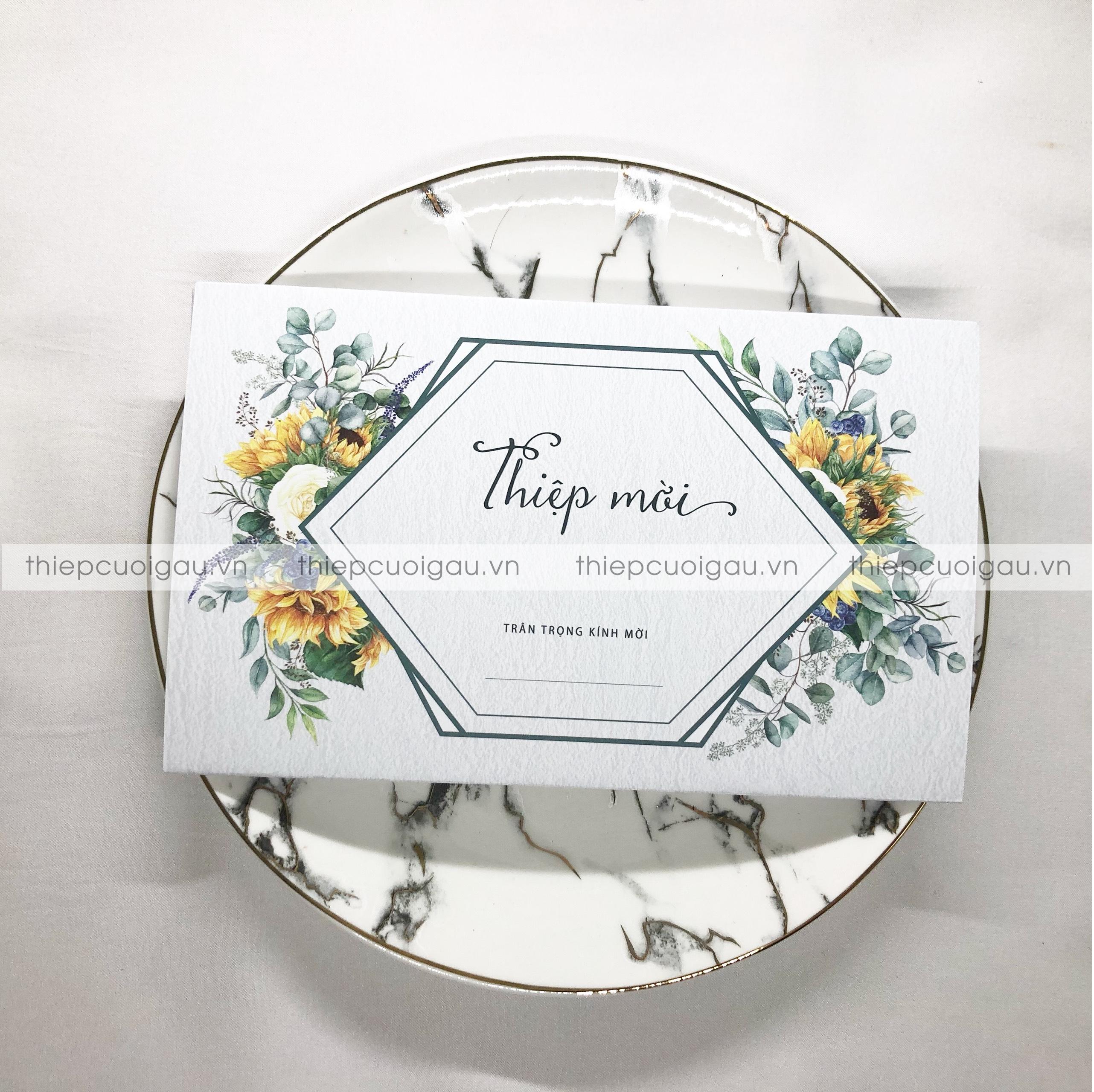 Thiệp cưới B070