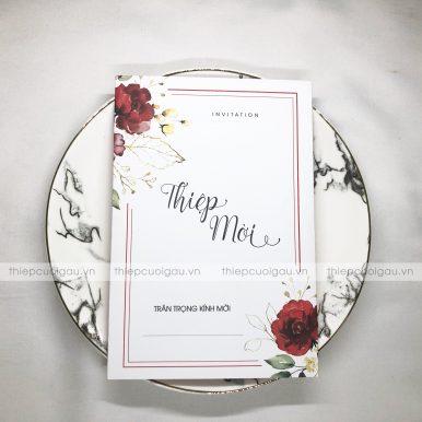Thiệp cưới DQ