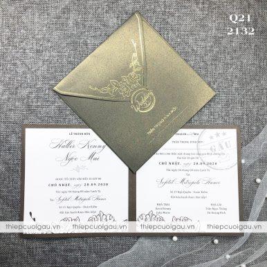 Thiệp cưới Q21