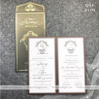 Thiệp cưới Q24