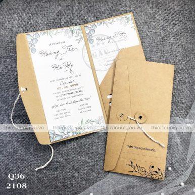 Thiệp cưới Q36