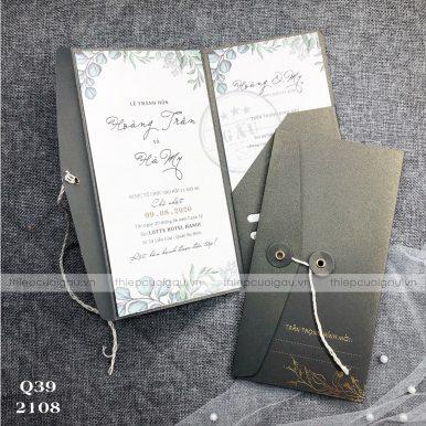 Thiệp cưới Q39